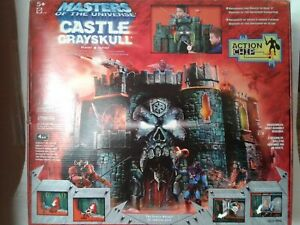 Castle Grayskull Playset ACTION CHIP  Masters of the Universe NEW MISB MOTU 2002