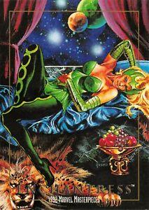 ENCHANTRESS-1992-Marvel-Masterpieces-BASE-Trading-Card-21-Art-by-JOE-JUSKO