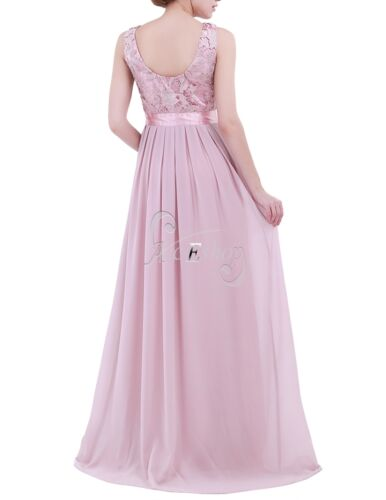Chiffon Women Long Evening Formal Party Cocktail Bridesmaid Prom Ball Gown Dress