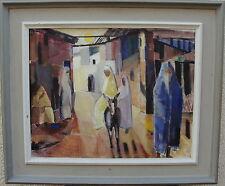 Reuben Hedin 1905-1985, Gasse in Nordafrika, um 1950
