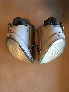 1997-2000 Lexus SC300 SC400 Fog Light Set LH RH Pair bumper Lamps OEM