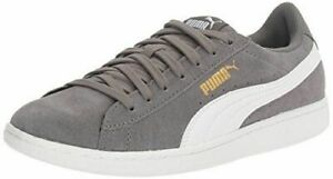 Details about NEW Puma Women's Vikky Grey Suede Classic Low-Top Sneaker  Tennis Shoes PICK SIZE