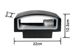 Applique a parete per esterno ip attacco e luce lampada da