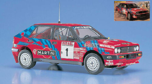 T Lancia Delta Hf #1 Winner Sanremo 1989 M Biasion Siviero Plastic Kit 1:24