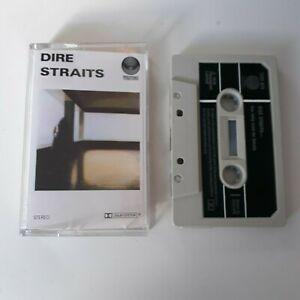 DIRE-STRAITS-S-T-SELF-TITLED-1ST-ALBUM-CASSETTE-TAPE-1978-PAPER-LABEL-VERTIGO-UK