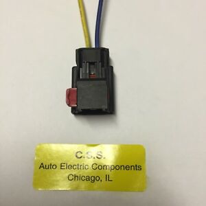 Details about ALTERNATOR REPAIR PLUG HARNESS 2 PIN WIRE PIGTAIL FOR on