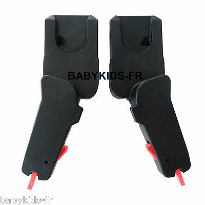Adapters for quinny moodd pushchair cosy cabriofix, pebble, maxi