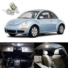 7 x Xenon White LED Light Package Deal For Volkswagen VW Beetle 1998 - 2011