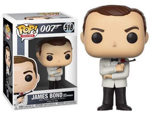 Funko POP James Bond 007-James Bond From Goldfinger Vinyle Neuf 518