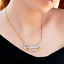 thumbnail 12 - Personalized FINE Sterling Silver 14K Gold ANY Name Plate Necklace + Free Chain