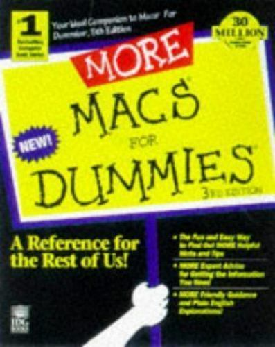 More Macs for Dummies by Pogue, David