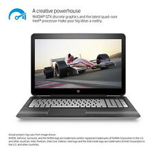"New HP 15t Laptop 15 15.6"" 1080p i5-7300HQ Quad 8GB 1TB 2GB 1050M Backlit Key"