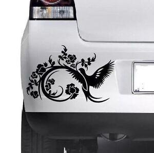 Floral-Decorative-Bird-Car-Bumper-Van-Window-Wall-Laptop-VINYL-DECAL-STICKER
