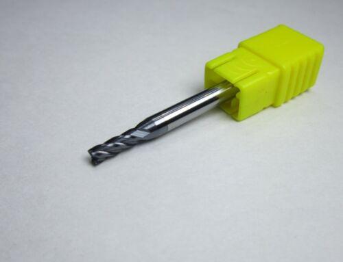 diameter 3mm HRC55 4 flutes flat Carbide End Mills milling cutter bits CNC carve