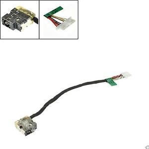 NUEVO-HP-15-ac106na-Arnes-de-cables-DC-Conector-Jack-Y-con-puerto