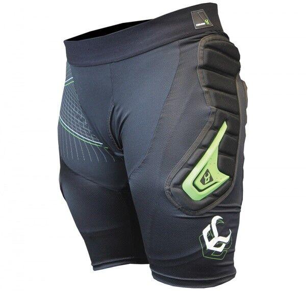 DEMON Flexforce X X X Impatto Pantaloncini D30 Nero c54