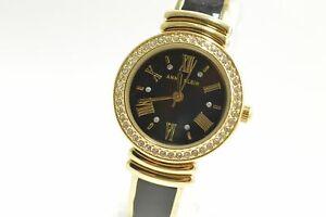 Anne-Klein-AK2882-Black-Dial-Two-Tone-Semi-Bangle-Ladies-Watch