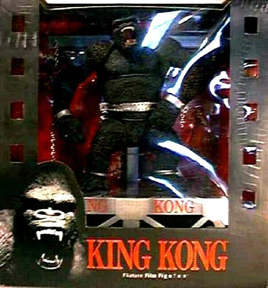 re Kong cifra scatola Set  McFarlane giocattoli Movie uomoiacs 3 nuovo 2000 Amricons