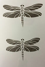 Dragonfly Mylar Reusable Stencil Airbrush Painting Art Craft DIY home