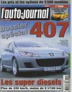 L-039-AUTO-JOURNAL-n-624-10-07-2003-407-GALLARDO-NISSAN-350Z-PORSCHE-CARRERA-S