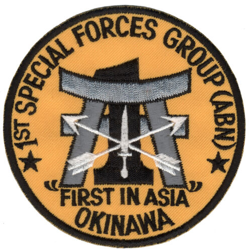 Patch 1st Special Forces Group Okinawa