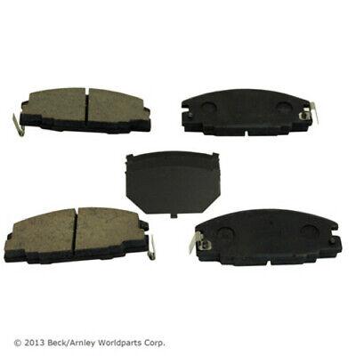 BECK//ARNLEY 082-0803 Premium Organic Brake Pads Front FREE SHIPPING!