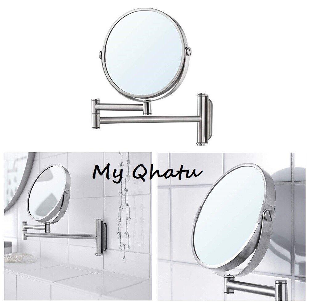 Dressing De Coin Ikea ikea brogrund swivel makeup mirror stainless steel new