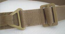 NEW - Coyote Tan Nylon Rigger BDU 45mm wide Trouser Utility Belt