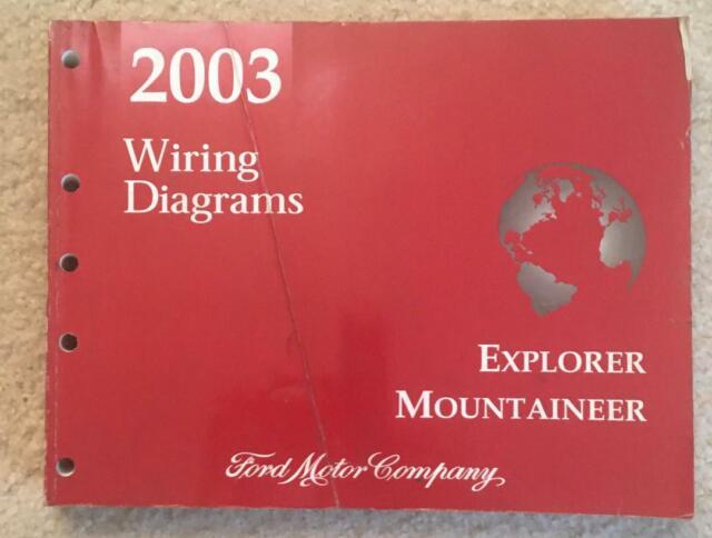 2003 Ford Explorer Mountaineer Wiring Diagrams Oem