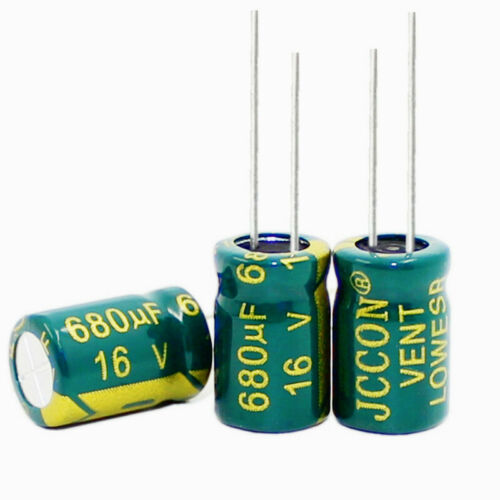 Aluminium Elektrolyt Kondensator Low ESR Niedrige Impedanz 105℃ Radial Capacitor