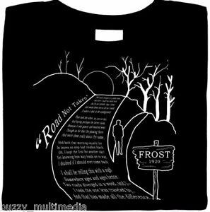 Road-Not-Taken-Poem-Robert-Frost-Shirt-literature-poetry-Sm-Plus-Sizes