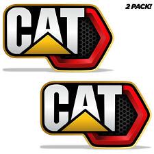 2pc Set Decals For Caterpillar Cat Logo Graphic Vinyl Stickers 9 X 6