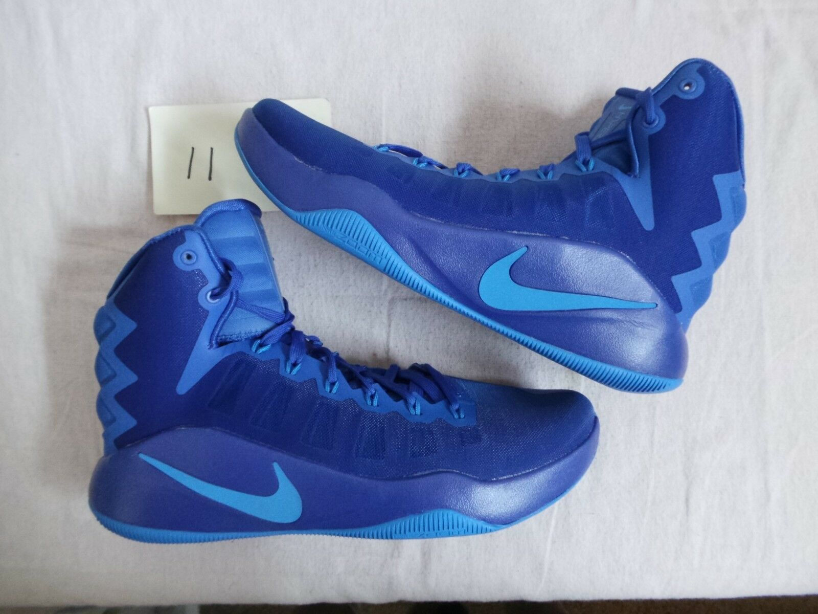 Nike Air Zoom Hyperdunk 2018 royal photo blue 140 MSRP size 11 DS NEW NWOB