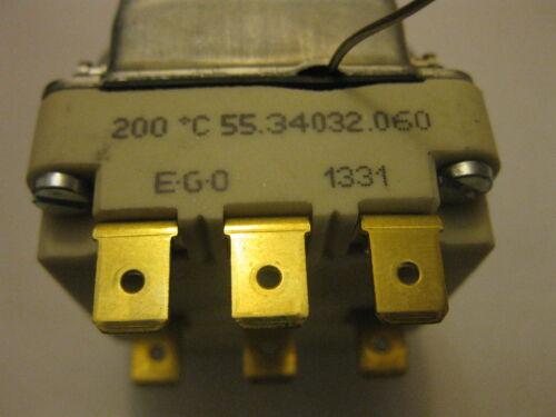 Details about  /E .O Universal Drei Phasen Friteuse 60-200c Regelthermostat EGO 55.34032.060