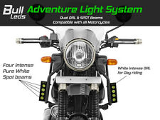 Bull-LEDs ✓ 2 x ADVENTURE LED SPOT LIGHTS + INTEGRATED DRL FOR ENFIELD HIMALAYAN