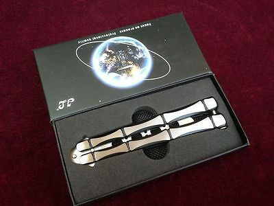 High Quality Practice BALISONG METAL BUTTERFLY Trainer Toy + Sheath + Gift Box