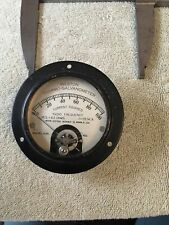 Vtg Radio Panel Meter Res 45 Ohms I115 Ma Rf Thermo Galvanometer 0 100 Me492