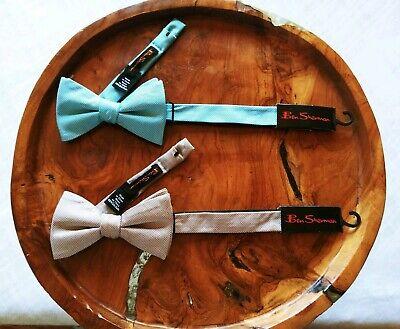 Ben Sherman Mens Core Solid 100/% Silk Skinny Bow Tie