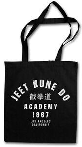 JEET-KUNE-DO-ACADEMY-TASCHE-STOFFTASCHE-Bruce-Kampfkunst-Martial-Arts-Lee-Karate
