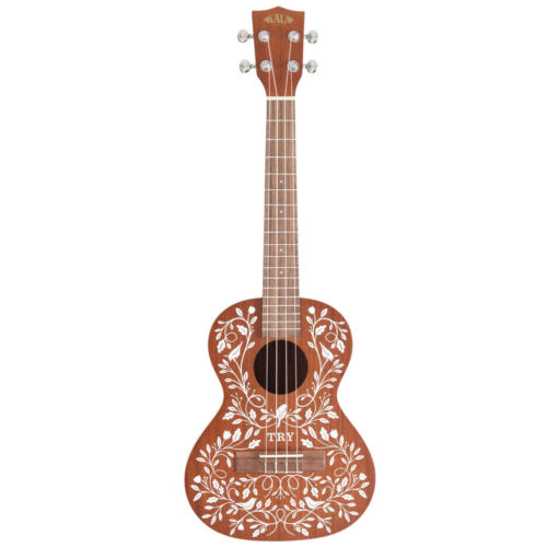 Kala Mandy Harvey Learn-To-Play Signature Series Tenor Ukulele with Bag Tuner