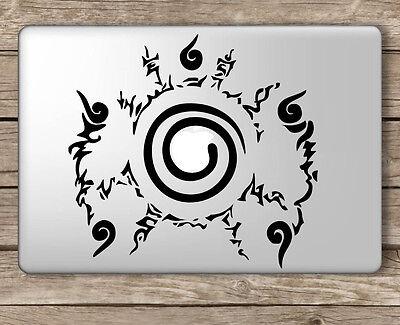 Naruto Seal - Apple Macbook Laptop Vinyl Sticker Decal