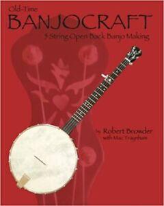 Banjocraft Banjo Making Book