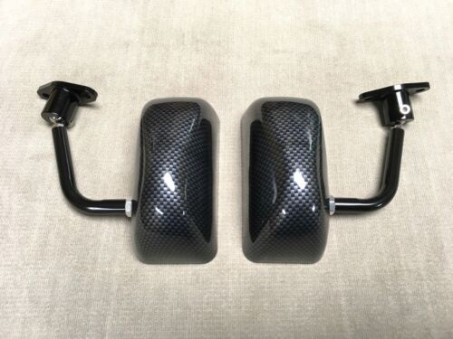 F3 Carbon look racing side FENDER mirror CT9A Impreza WRX sti Legacy Forester GC