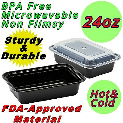 24oz Food Containers Meal Prep Bpa Free