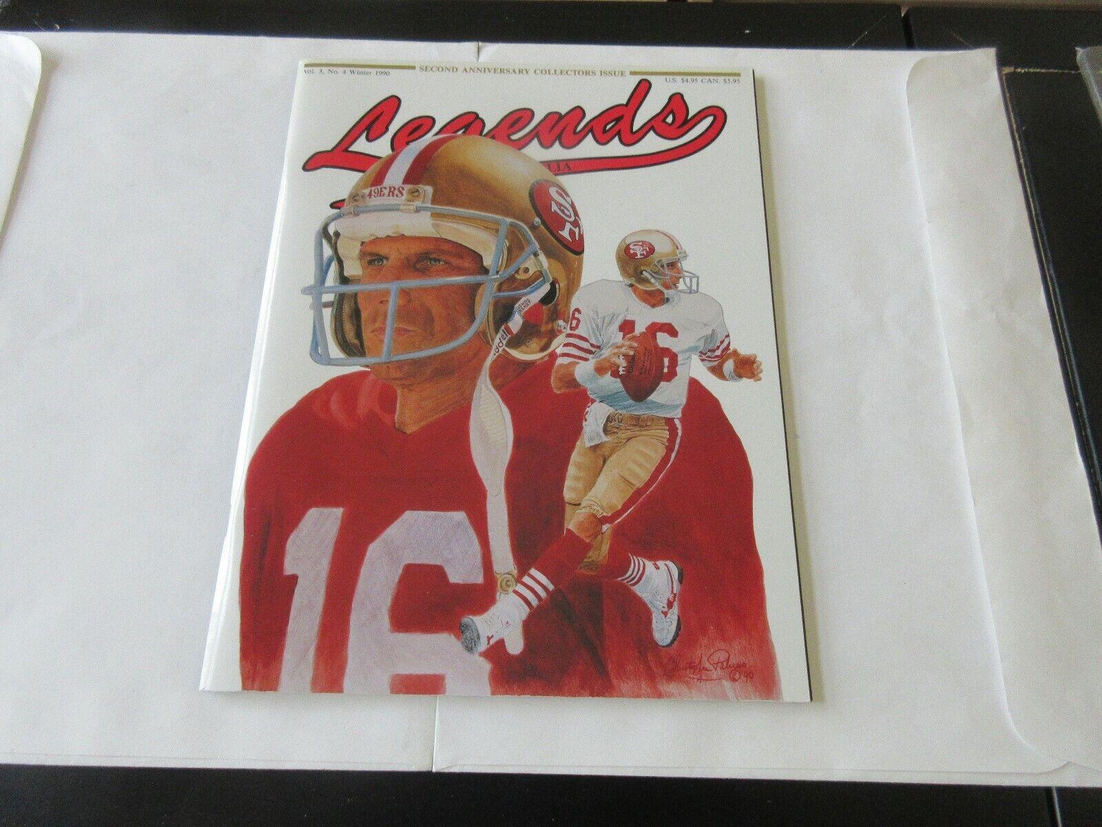 Legends , Winter 1990 , Mike Schmidt , Ali ,Namath , Ri