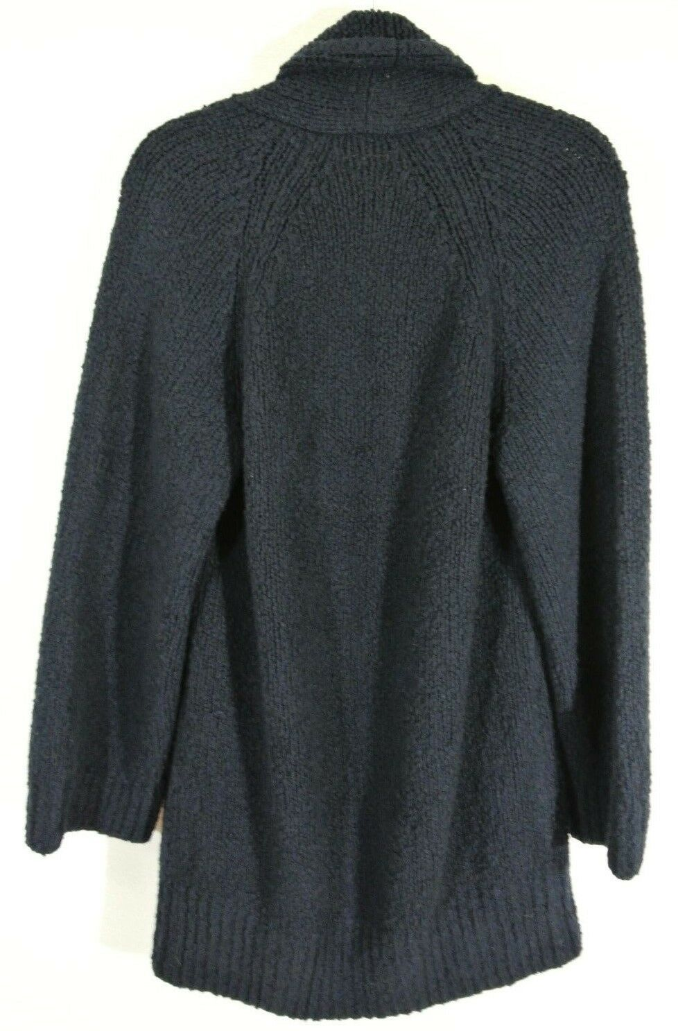 NEW Vince Textured Textured Textured Wool Cardigan in Navy - Size M aacab2