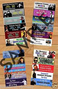 BEATLES-SOLO-YEARS-Jukebox-Title-Strips-Vol-2