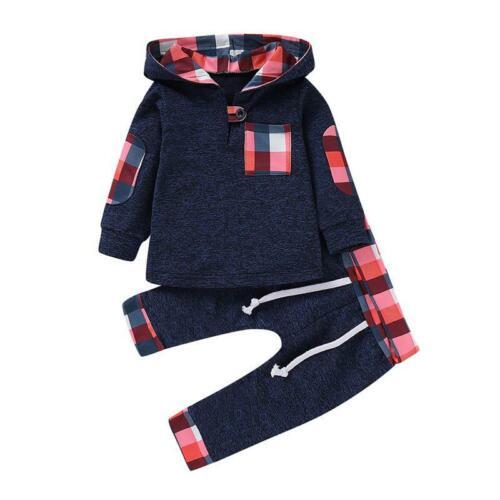 pantalones Traje Chándal Conjuntos de ropa para niños Sudaderas con capucha