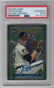 1995-Topps-Finest-Tom-Glavine-Atlanta-Braves-Signed-Auto-Card-64-PSA-DNA