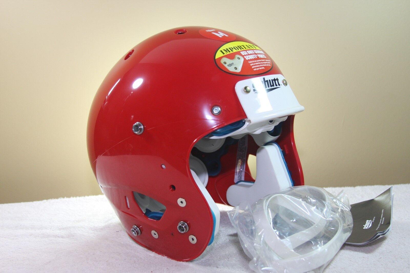 Schutt YOUTH AiR XP Football Helmet SCARLETT RED New not used MEDIUM 2017 157